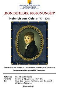 """Plakat """"Heinrich von Keist"""""""