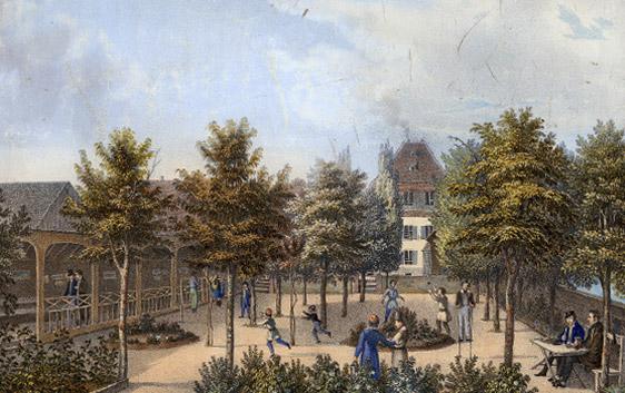 historische Ansicht der Gemeinde Königsfeld
