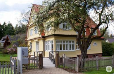 Albert-Schweitzerhaus Eingang