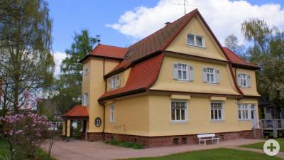 Albert-Schweitzer-Haus Originaleingang